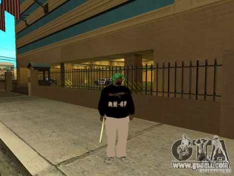 New thick Groove for GTA San Andreas second screenshot