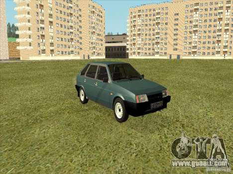 VAZ 2109 Final for GTA San Andreas