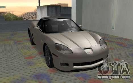 Chevrolet Covette Z06 for GTA San Andreas left view