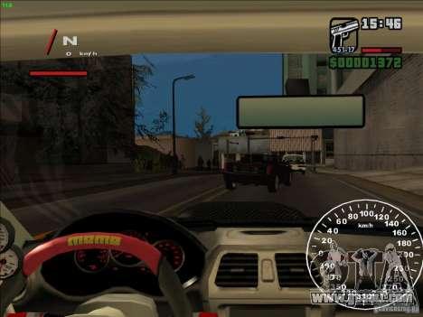 Subaru Impreza WRX Sti 2006 Elemental Attack for GTA San Andreas side view