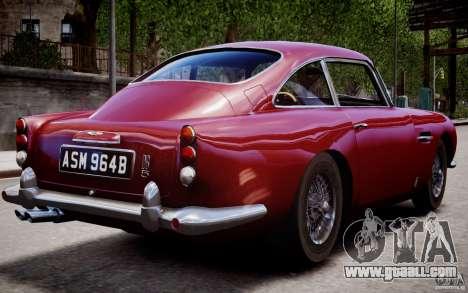Aston Martin DB5 1964 for GTA 4 interior