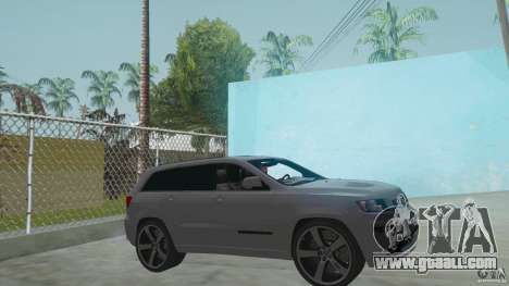 Jeep Grand Cherokee SRT8 2013 for GTA San Andreas back left view