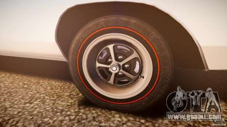 Dodge Charger RT 1969 v1.0 for GTA 4 bottom view