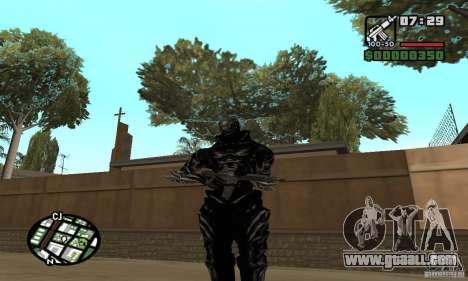 Alex Mercer v2 for GTA San Andreas forth screenshot