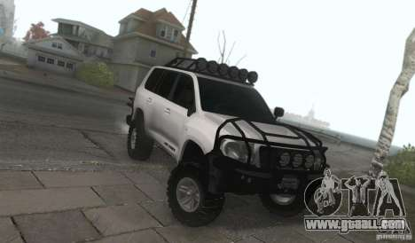 Toyota Land Cruiser 200 Off Road v1.0 for GTA San Andreas