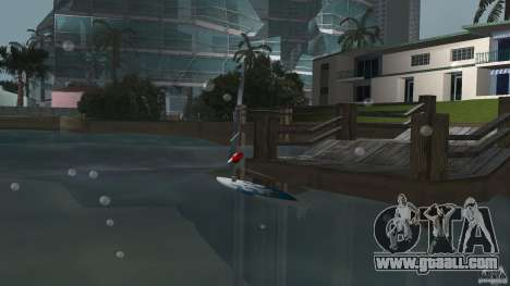 Windsurf for GTA Vice City back left view