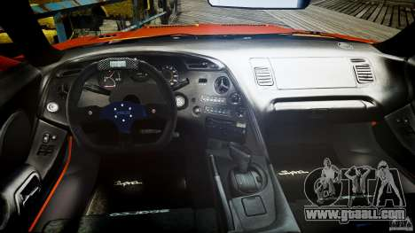 Toyota Supra MK4 Tunable v1.0 for GTA 4 right view