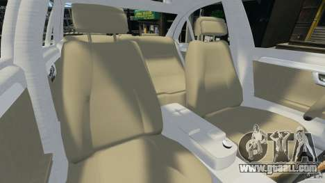 Mercedes-Benz C350 Avantgarde v2.0 for GTA 4 inner view
