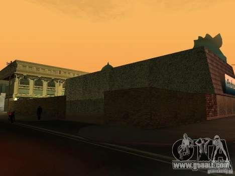 Andreas's Cafe for GTA San Andreas third screenshot