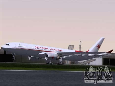 Airbus A330-203 Air Algerie for GTA San Andreas