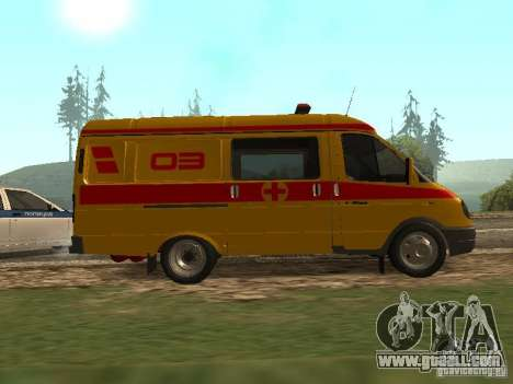 GAS 32217 Resuscitation for GTA San Andreas left view