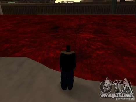 Lava for GTA San Andreas forth screenshot