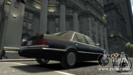 Mercedes-Benz 600SEL wheel2 non-tinted for GTA 4 back left view