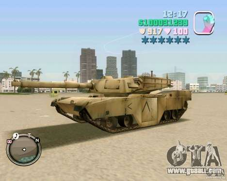 M 1 A2 Abrams for GTA Vice City