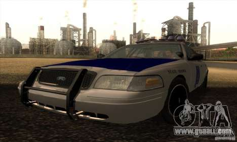 Ford Crown Alabama Police for GTA San Andreas