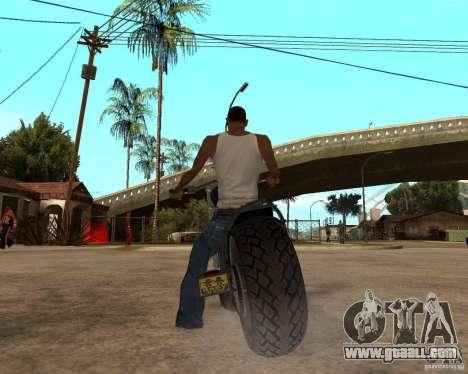 Diabolus Bike for GTA San Andreas right view