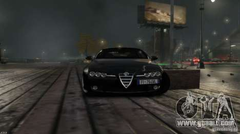 Alfa Romeo Brera Italia Independent 2009 v1.1 for GTA 4 back left view