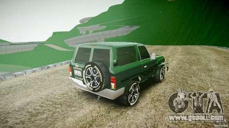 Toyota Land Cruiser 4.5 V2 for GTA 4 side view