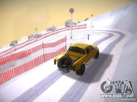 Dodge Ram Prerunner for GTA San Andreas inner view