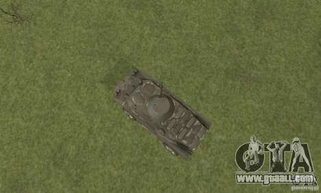 BRDM-2 winter version for GTA San Andreas back view