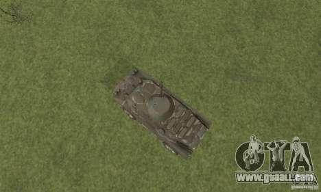 BRDM-2 winter version for GTA San Andreas back view