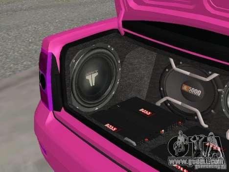 Lada Priora Emo for GTA San Andreas upper view