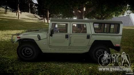 Hummer H1 Original for GTA 4 left view