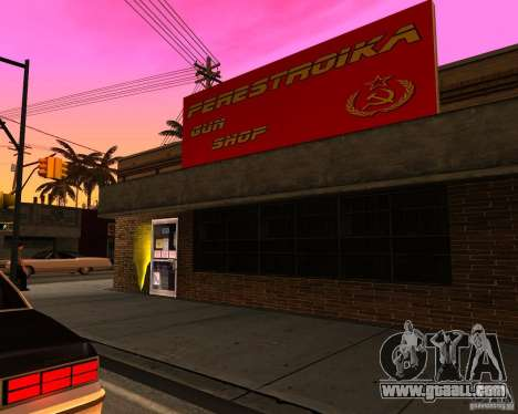 Stores The Restructuring for GTA San Andreas forth screenshot