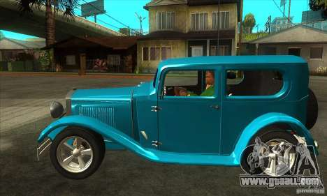 Ford A 1928 Hotrod for GTA San Andreas left view