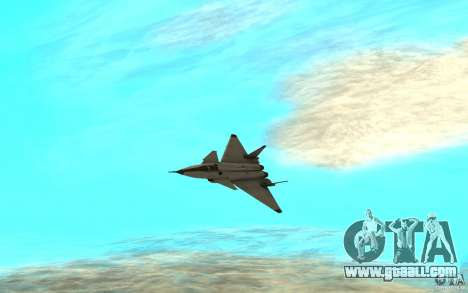 MIG 1.44 for GTA San Andreas left view