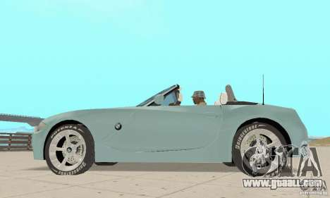 BMW Z4 Roadster 2006 for GTA San Andreas right view