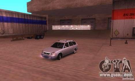 VAZ-2171 v2.0 for GTA San Andreas