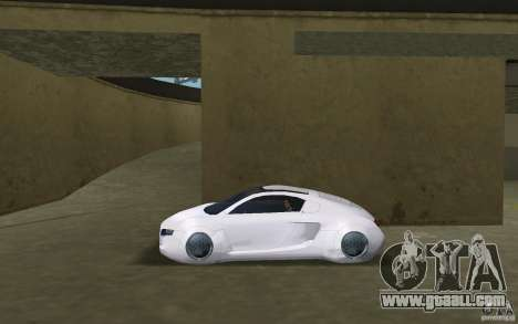 Audi RSQ concept for GTA Vice City left view
