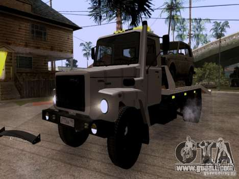 GAZ 3309 tow truck for GTA San Andreas