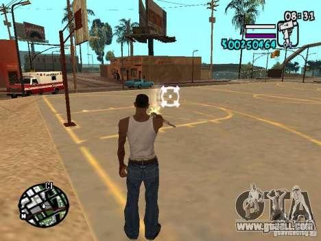 HUD by Hot Shot v2.1 for GTA San Andreas third screenshot