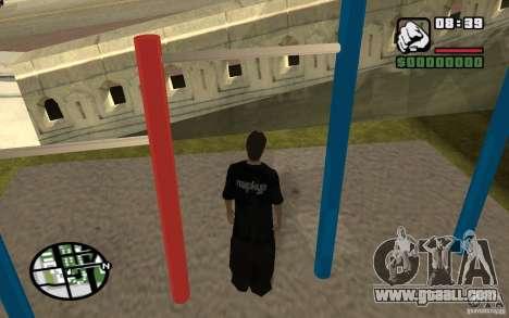 Horizontal Bars for GTA San Andreas fifth screenshot
