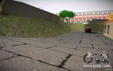 HD Fire Department for GTA San Andreas sixth screenshot