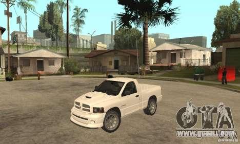 Dodge Ram SRT 10 for GTA San Andreas
