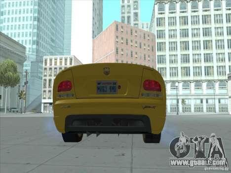 Dodge Viper SRT-10 (Golden Viper) for GTA San Andreas left view