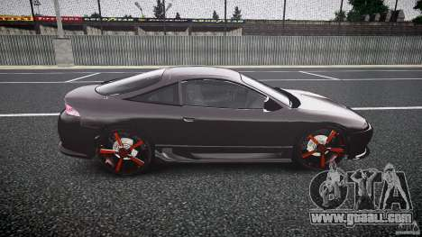 Mitsubishi Eclipse Tuning 1999 for GTA 4 back view
