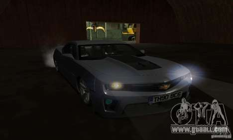 Chevrolet Camaro ZL1 2012 for GTA San Andreas