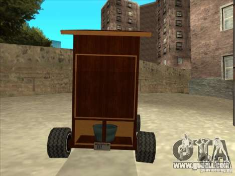 Holy Pooper (Busy!) for GTA San Andreas right view
