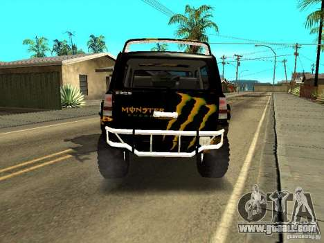 Scion xB OffRoad for GTA San Andreas back left view