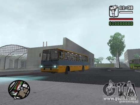 Ikarus 263 for GTA San Andreas left view