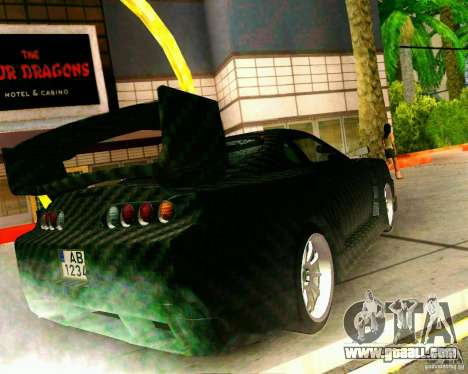 Toyota Supra Carbon for GTA San Andreas left view
