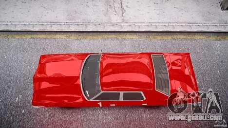 Dodge Monaco 1974 stok rims for GTA 4 right view