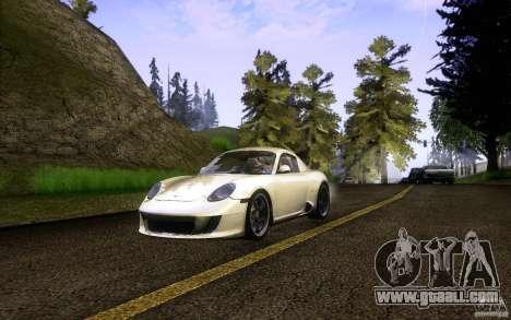 Ruf RK Coupe V1.0 2006 for GTA San Andreas
