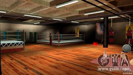 Gym for GTA San Andreas