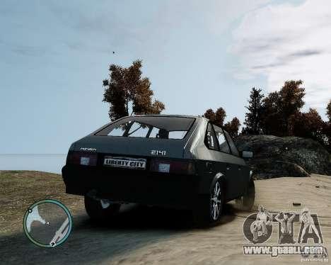 AZLK Moskvich 2141 for GTA 4 left view