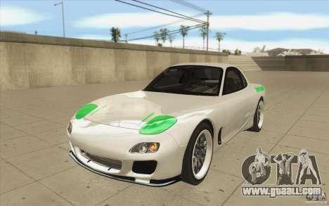 Mazda FD3S - Ebisu Style for GTA San Andreas